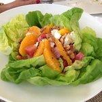 beet salad is light and tasty