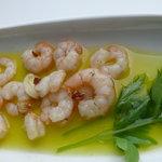 Gamberi in olive oil