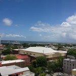 View from tenth floor corner room
