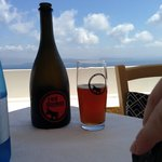 and santorini beer of course!