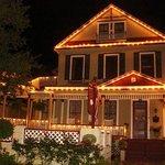 Cedar House Inn at night