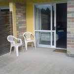 Back patio unit access