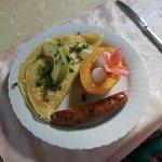 Svetlana made this amazing Breakfast