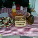 Puerto Morelos Italian restaurant imported Balsamic vinegar