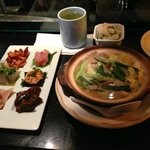 Daily chef's pick and miso hot pot