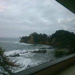 五浦海岸の眺め