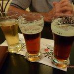 3 beer sampler - Jury still out!