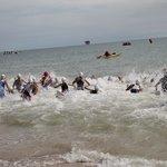 inizio gara in mare