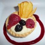 Fruit cup desert