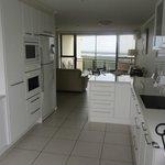 Kitchen & Ocean View Balcony