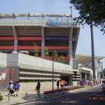 大きなスタジアムです。