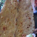 Hugefamily naan bread