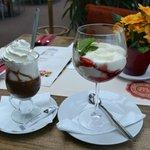 Home-made dessert