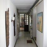 Artistic hallway