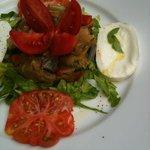 caponata in the lunch menu.