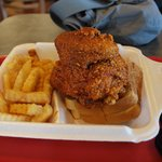 100 degree hot chicken