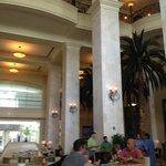 Lobby bar.
