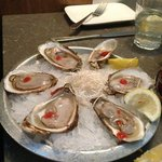 Malpeque oysters