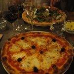 La pizza quatres fromages *+!!!