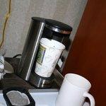 macchina del caffè camera