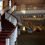 scalone interno hotel