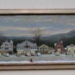 The Christmas painting of Stockbridge