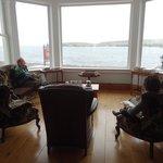 1st floor sitting room window - dining/breakfast room has similar view