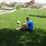 bruno dans le parc