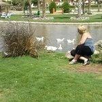 valérie dans le parc