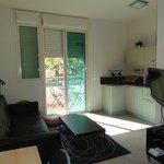 Apt #22 living room & kitchen