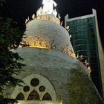 Notre-Dame du Liban at night