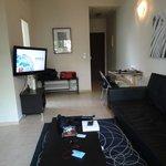 Apt #22 living room