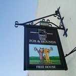 Fox and Hounds sign