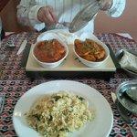 FANTASTIC food at YAK AND YETI :)