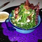Dulce Patria's delicious salad - Hotel restaurant