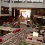 La Hall dell'albergo