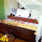 Bed in Hilltop Coconut