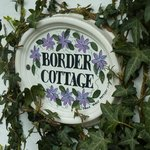 Border Cottage plaque