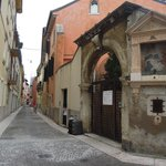 historical streets outside