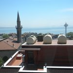 View of the Sea of Marmara from our room