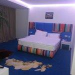 Zeer ruime kamer, goed bed