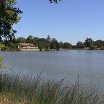 The Lake and the Atascadero Pavillion