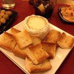 heerlijke gesmolten kaas
