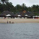 Restaurantes na praia