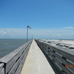 Fishing Pier At Ft. Clinch State Park