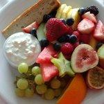 Our Fruit Breakfast Platter Room Service