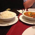 basmati rice and fish masala