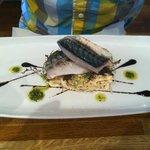 Confit mackerel - amazing