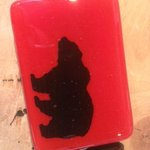 Glass Bear Buckle