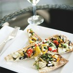 Roasted Vegetable flat bread